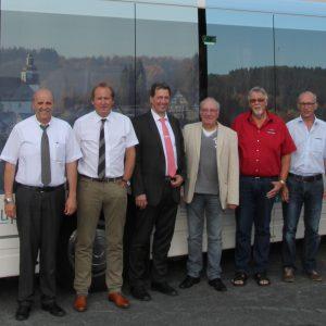 Gruppenfoto mit VWS-Geschäftsführung