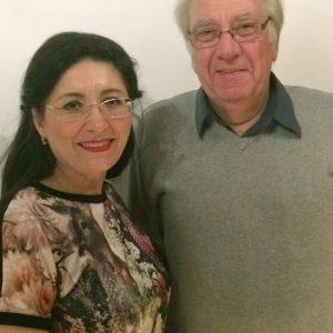 Nezahat Baradari mit Thomas Förderer